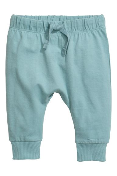 Jersey trousers - Light turquoise - Kids | H&M IN