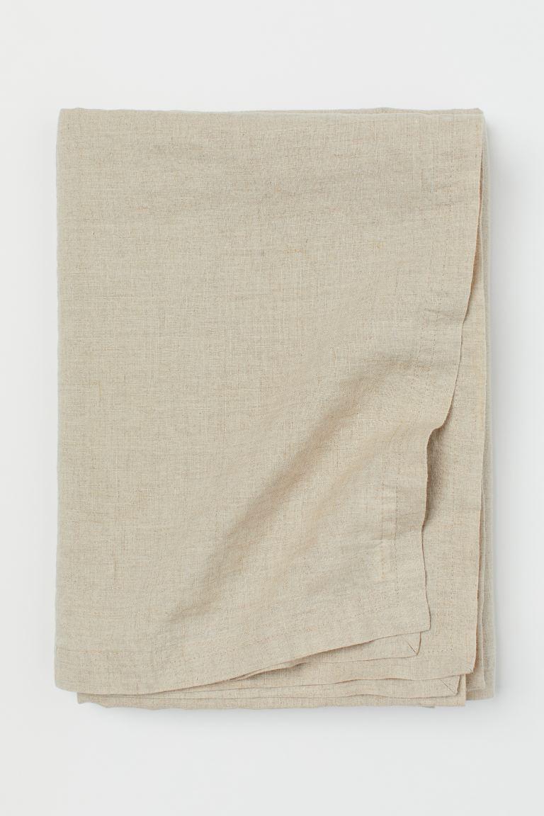 Come Lavare Il Lino tovaglia in lino lavato