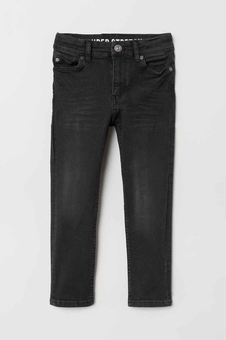 Superstretch Skinny Fit Jeans - Zwart -  | H&M NL