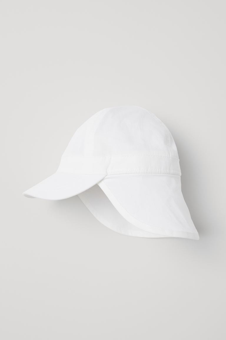 Sun Cap - White -  | H&M US