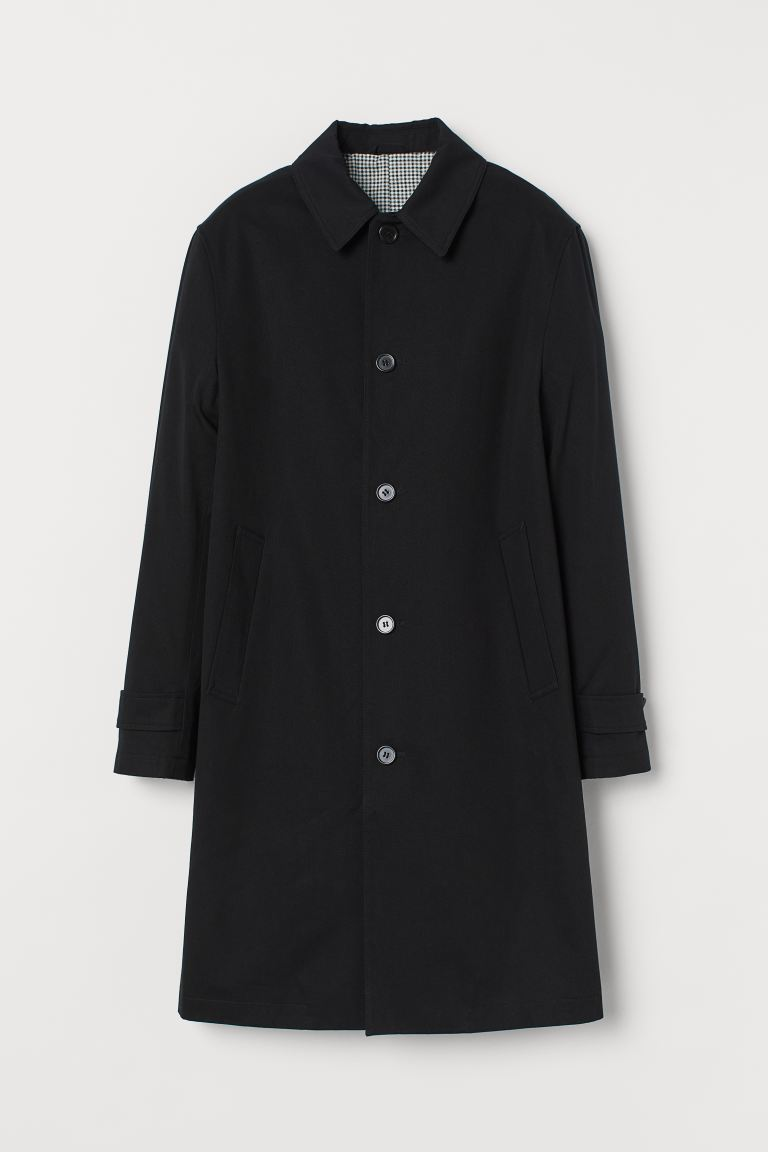 Car Coat - Black - Men | H&M CA