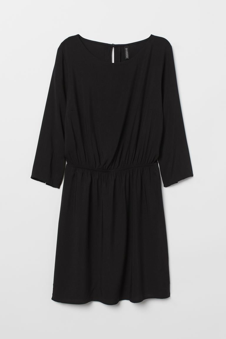 Short Dress - Black - Ladies | H&M US