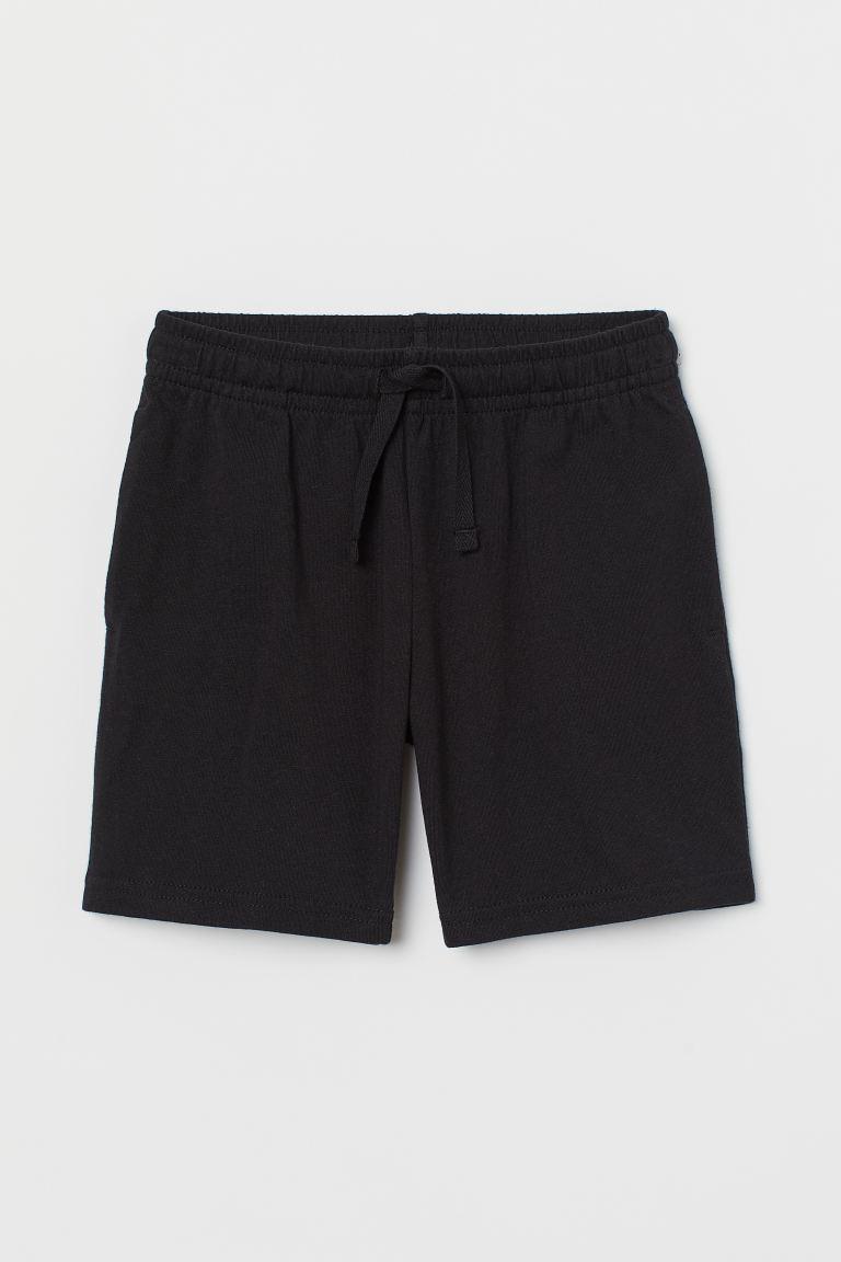 Jersey shorts - Black - Kids | H&M GB