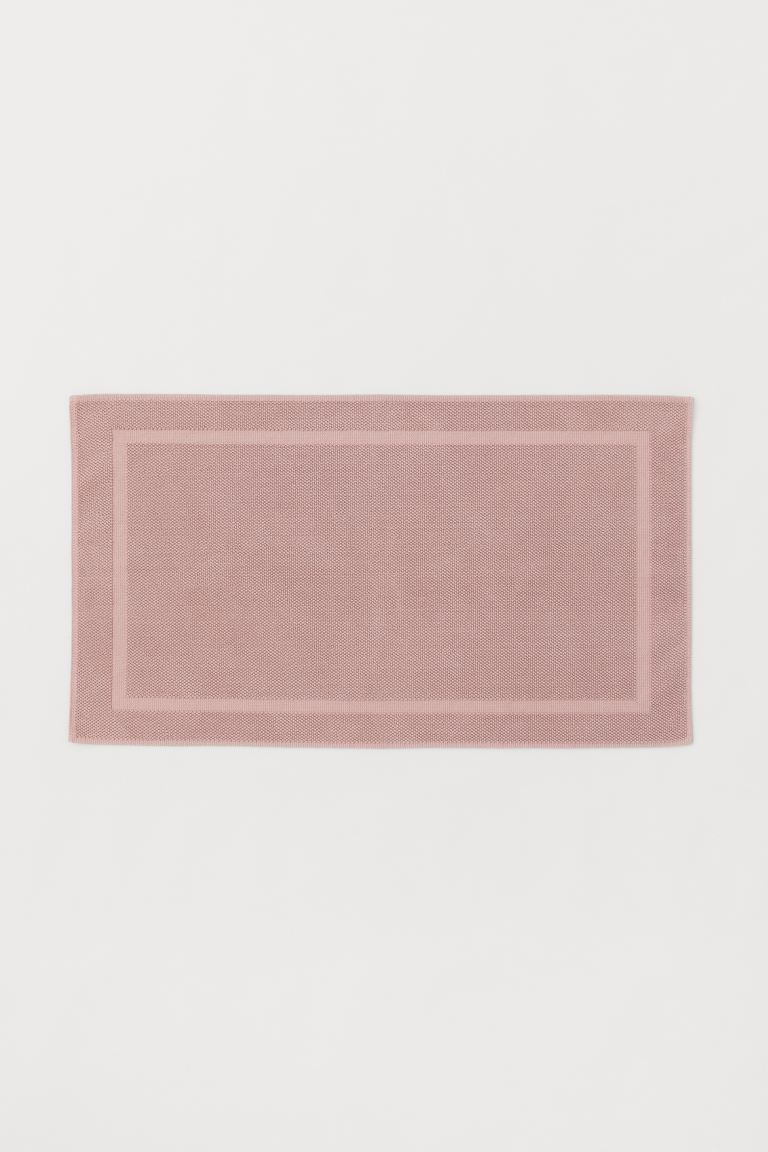 Large bath mat - Light pink - Home All | H&M GB