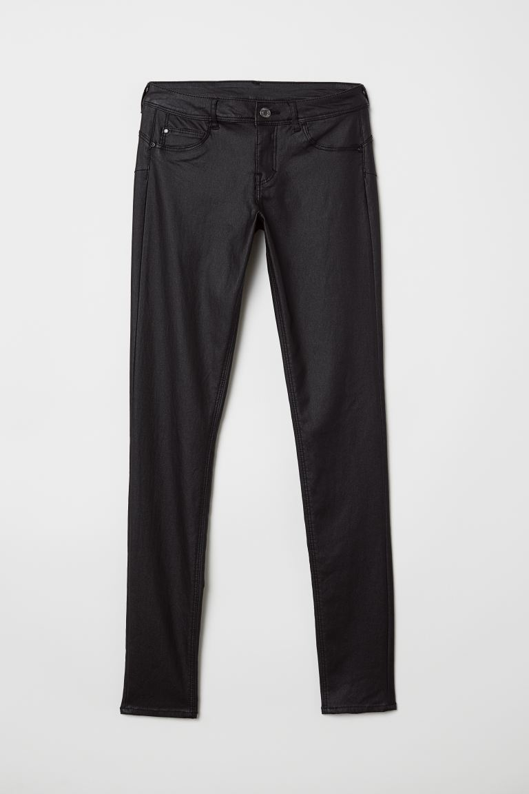 Push up Low Jeggings - Noir - FEMME | H&M BE