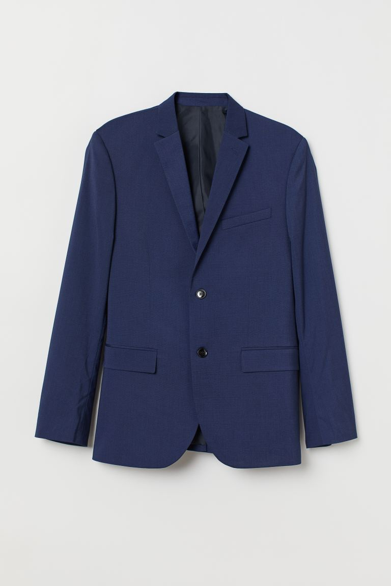 Blazer - Slim fit - Donkerblauw - HEREN | H&M BE