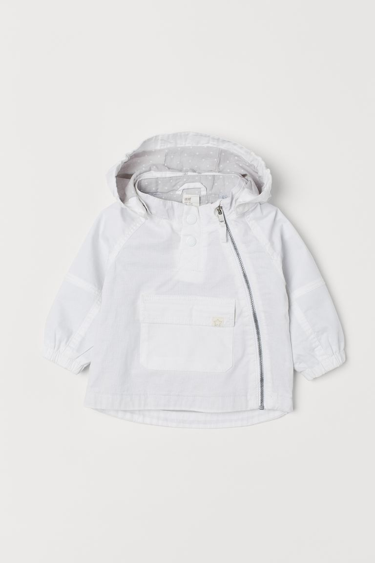 Cotton Anorak - White -  | H&M US