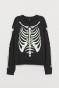 Black/skeleton