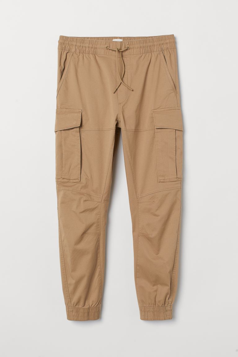 Cargo Joggers - Dark beige - Men | H&M US