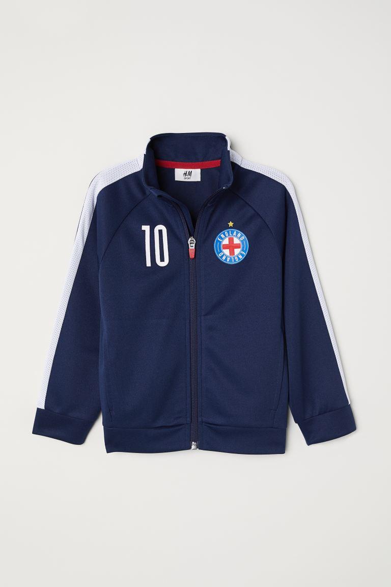 Football jacket - Dark blue/England -    H&M GB