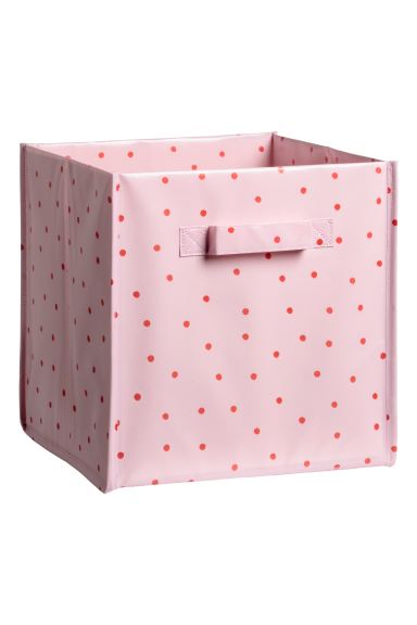 Storage box - Pink/Red spotted - Home All | H&M GB