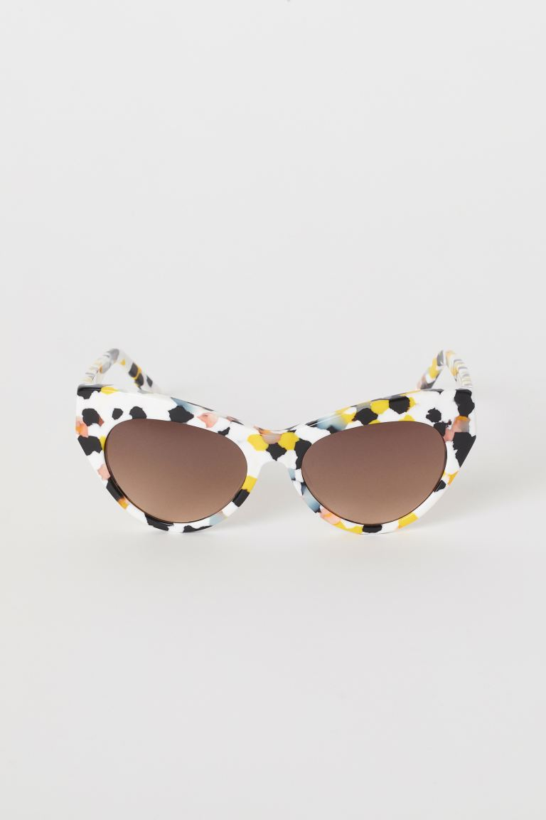 Sunglasses - White/patterned - Ladies | H&M US