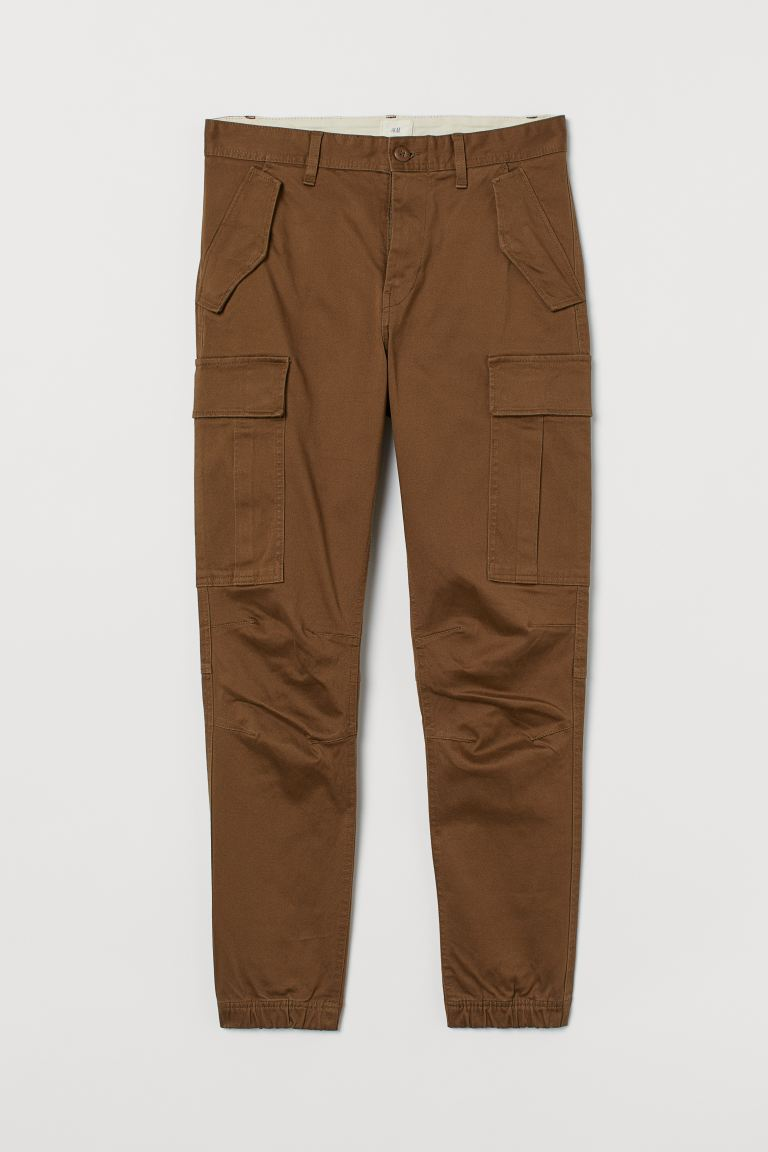 Baumwoll-Cargohose - Dunkelbraun - Men | H&M AT