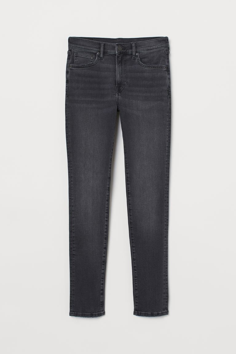 Skinny Jeans - Noir washed out - HOMME | H&M FR