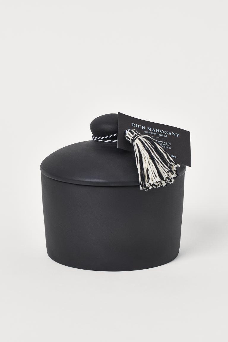 Ароматическая свеча в керамике