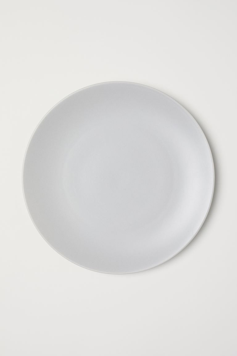 Porcelain plate - Light mole -  | H&M GB