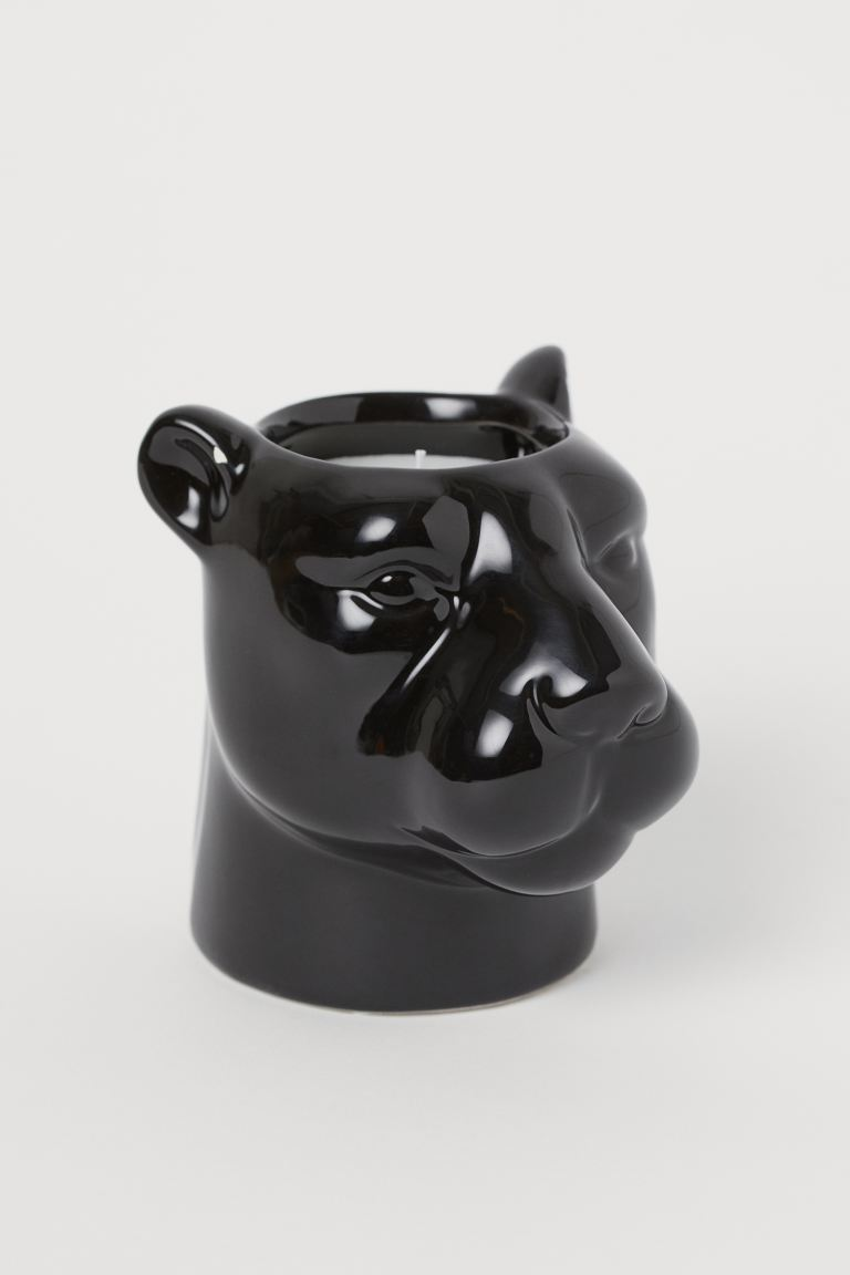 Scented Candle in Holder - Black - Home All | H&M US
