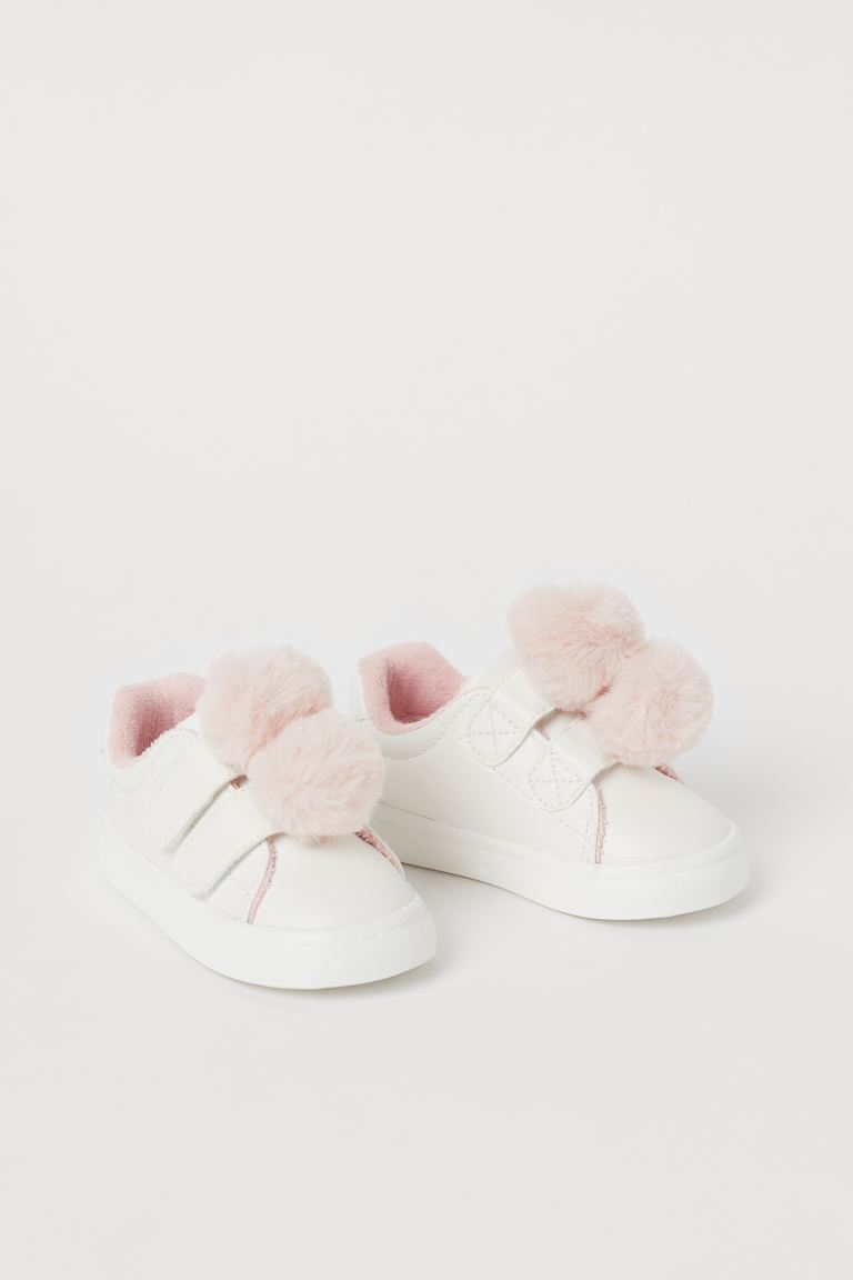 Baskets - Blanc/rose poudré - ENFANT | H&M FR