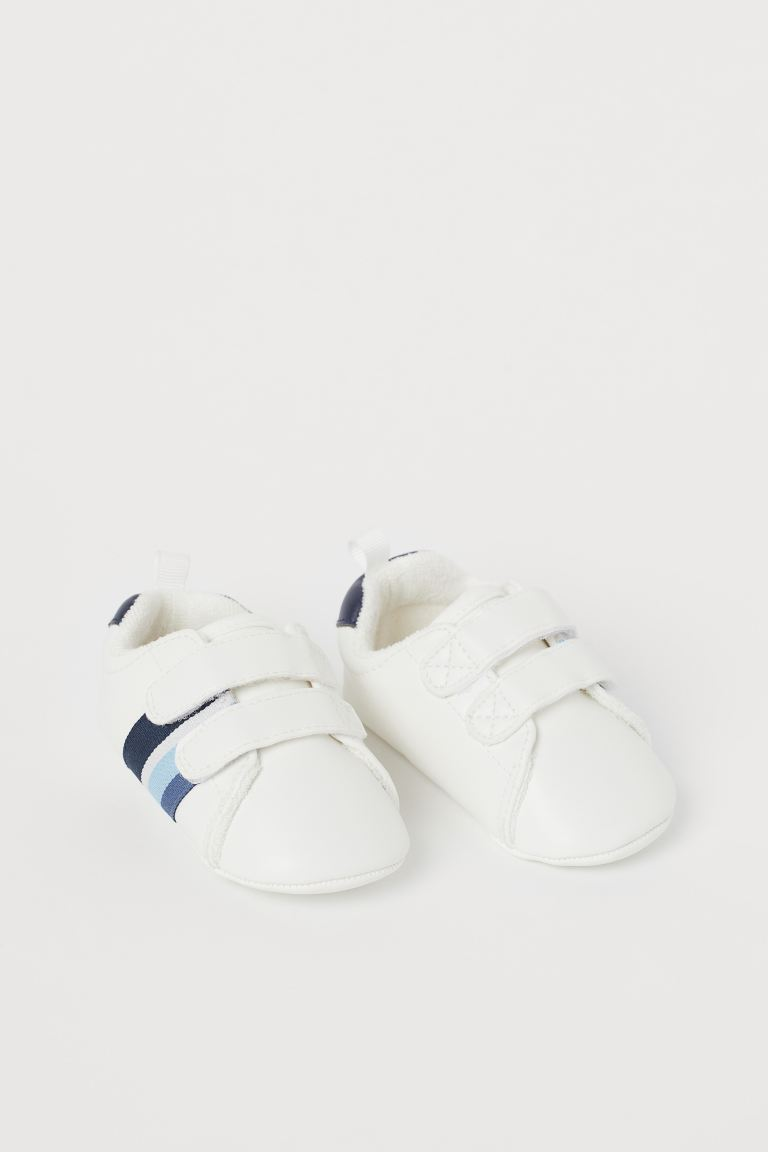 Soft Sneakers - White/blue - Kids | H&M CA