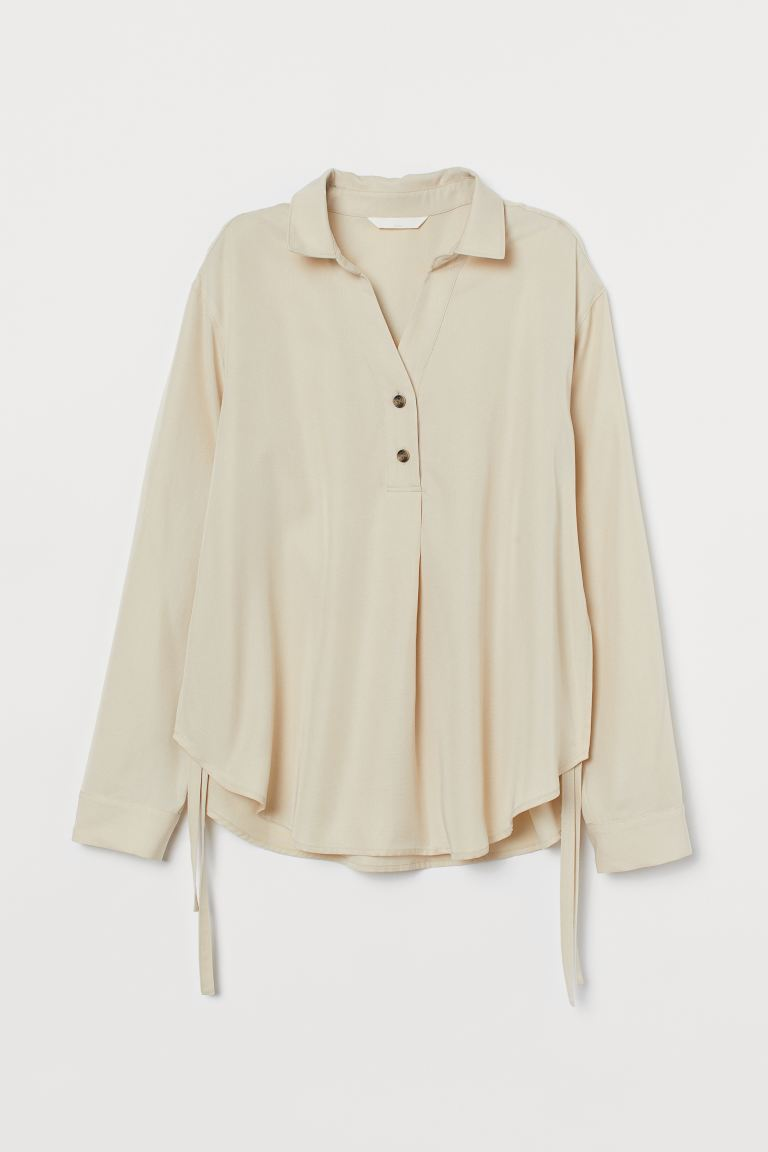 MAMA Voedingsblouse - Roomwit - DAMES | H&M NL