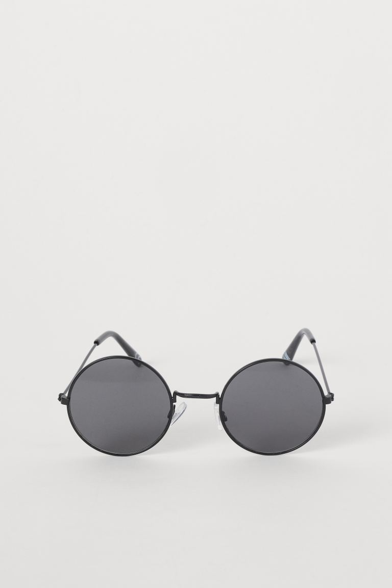 Round sunglasses - Black - Ladies | H&M GB