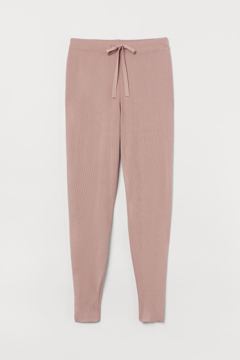 Feinstrick-Joggers - Puderrosa - Ladies | H&M AT 4