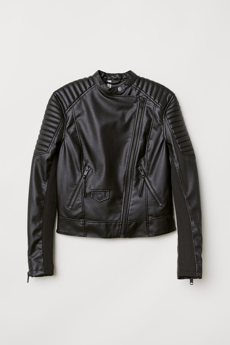 Biker Jacket - Black - Ladies | H&M US