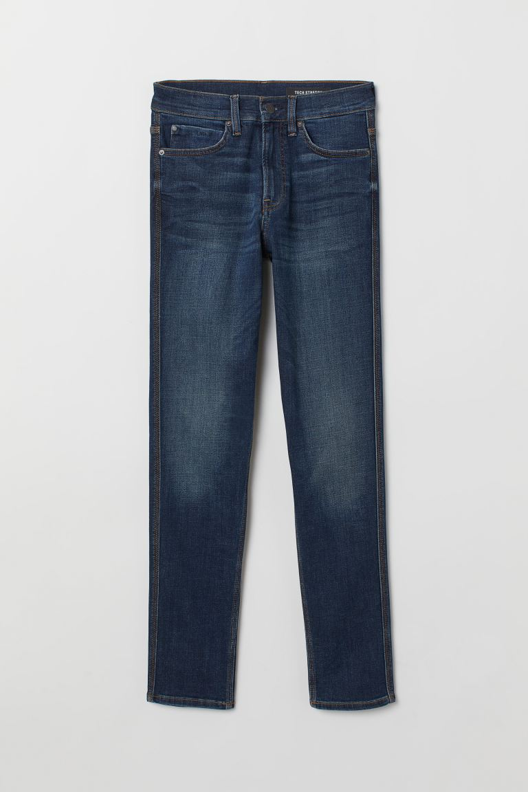Tech Stretch Slim Jeans - Blu denim - UOMO | H&M IT