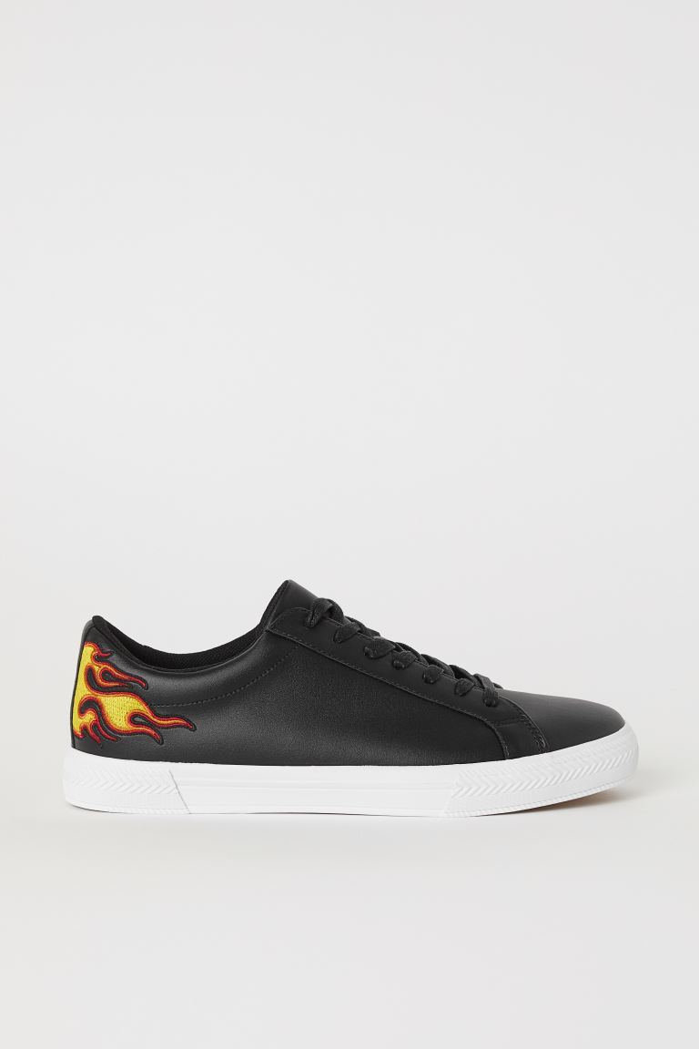 Sneaker - Schwarz/Flammen - Men | H&M AT