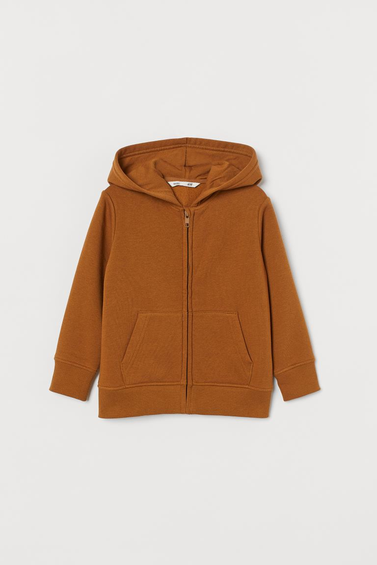 Hooded jacket - Light brown - Kids | H&M GB