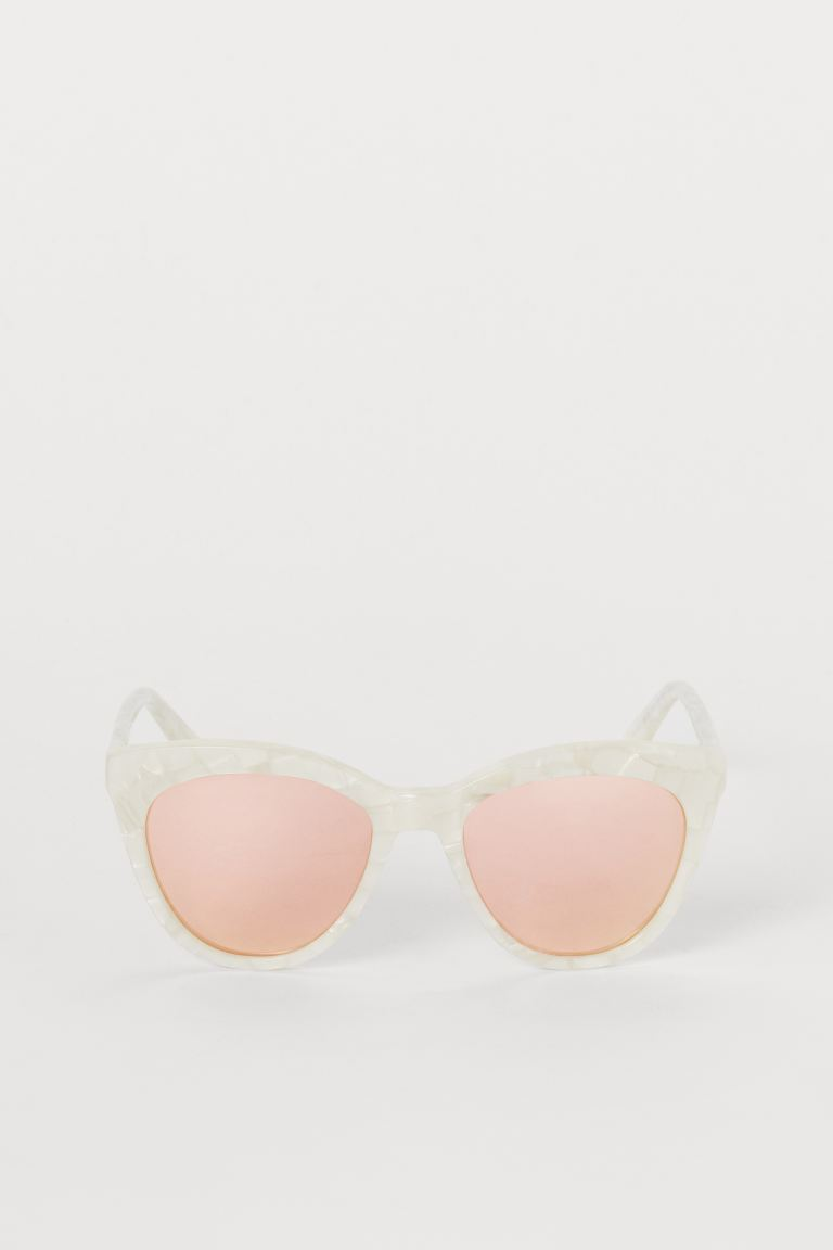 Polarized Sunglasses - White/Rosé - Ladies | H&M CA
