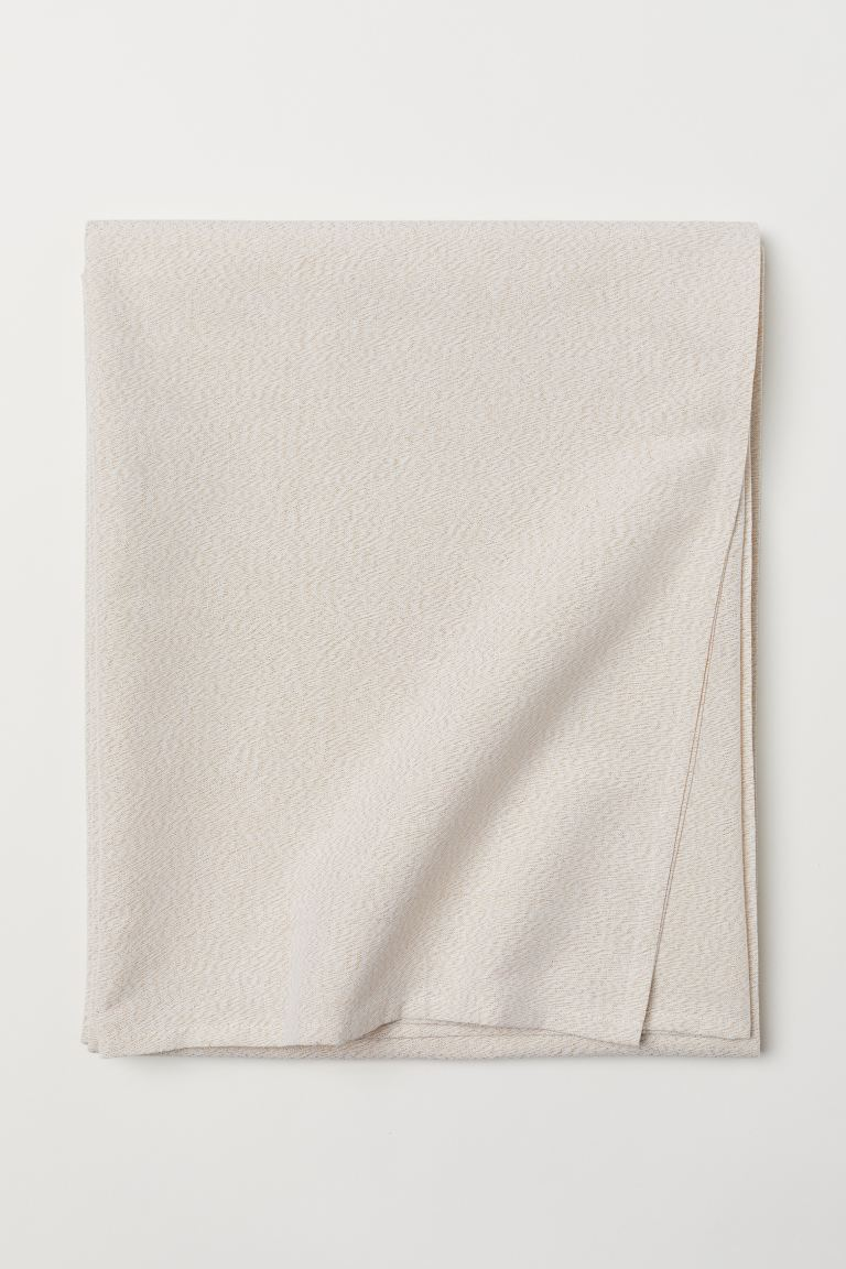 Glittery tablecloth - White/Glittery - Home All | H&M GB