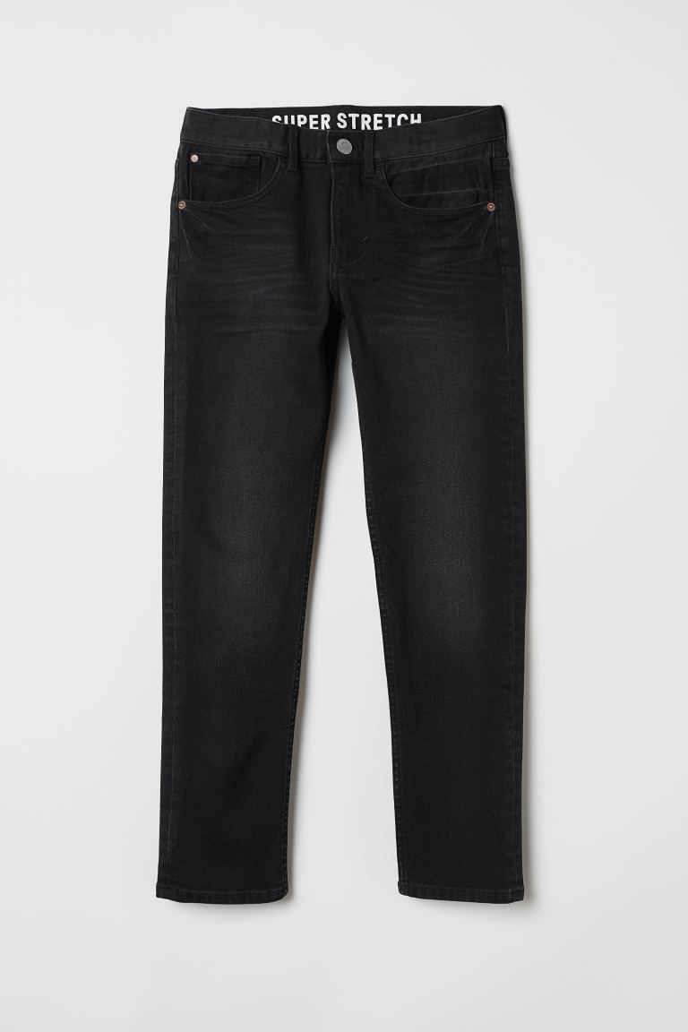 Superstretch Skinny Fit Jeans - Schwarz - Kids | H&M DE