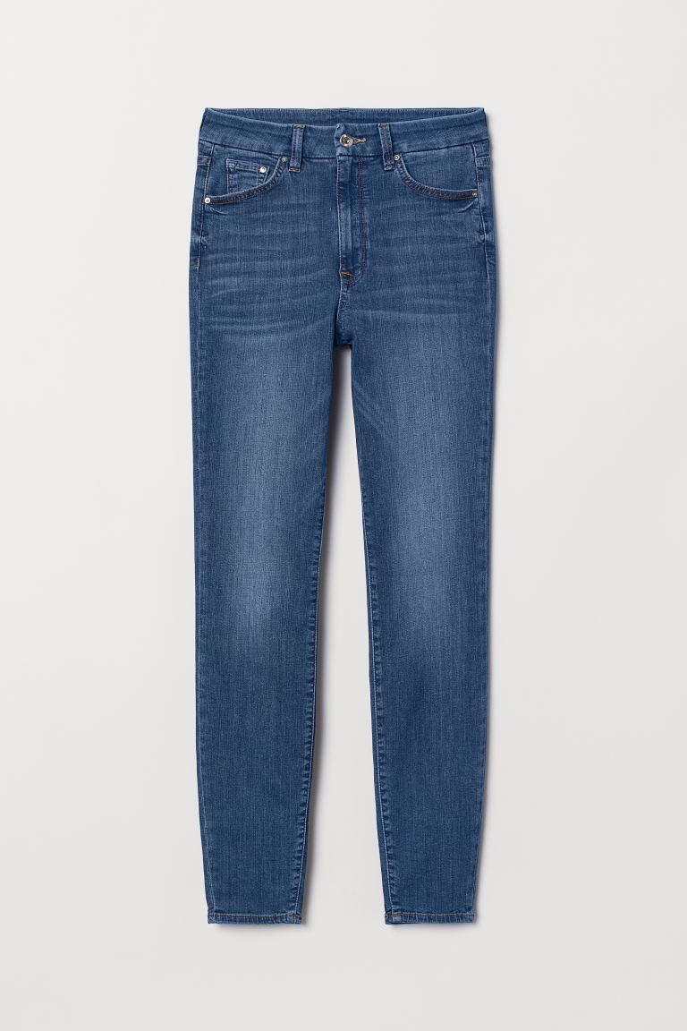 Embrace High Ankle Jeans - Bleu denim - FEMME | H&M BE