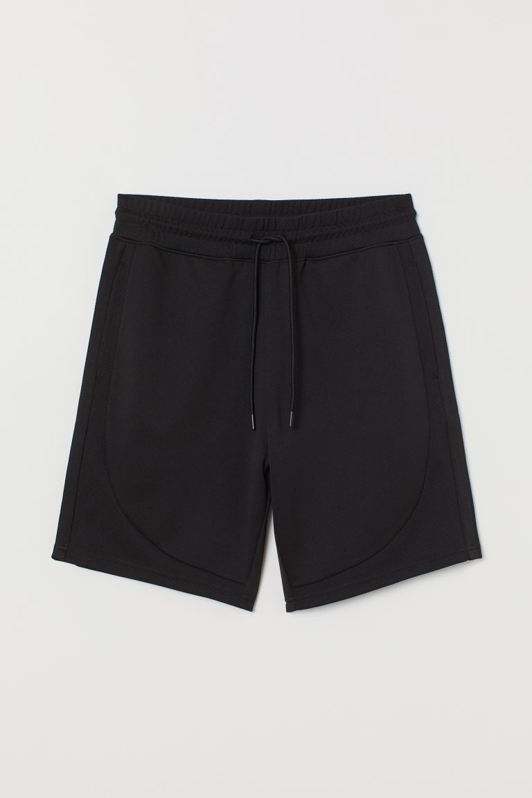 Mesh Shorts - Black - Men | H&M US