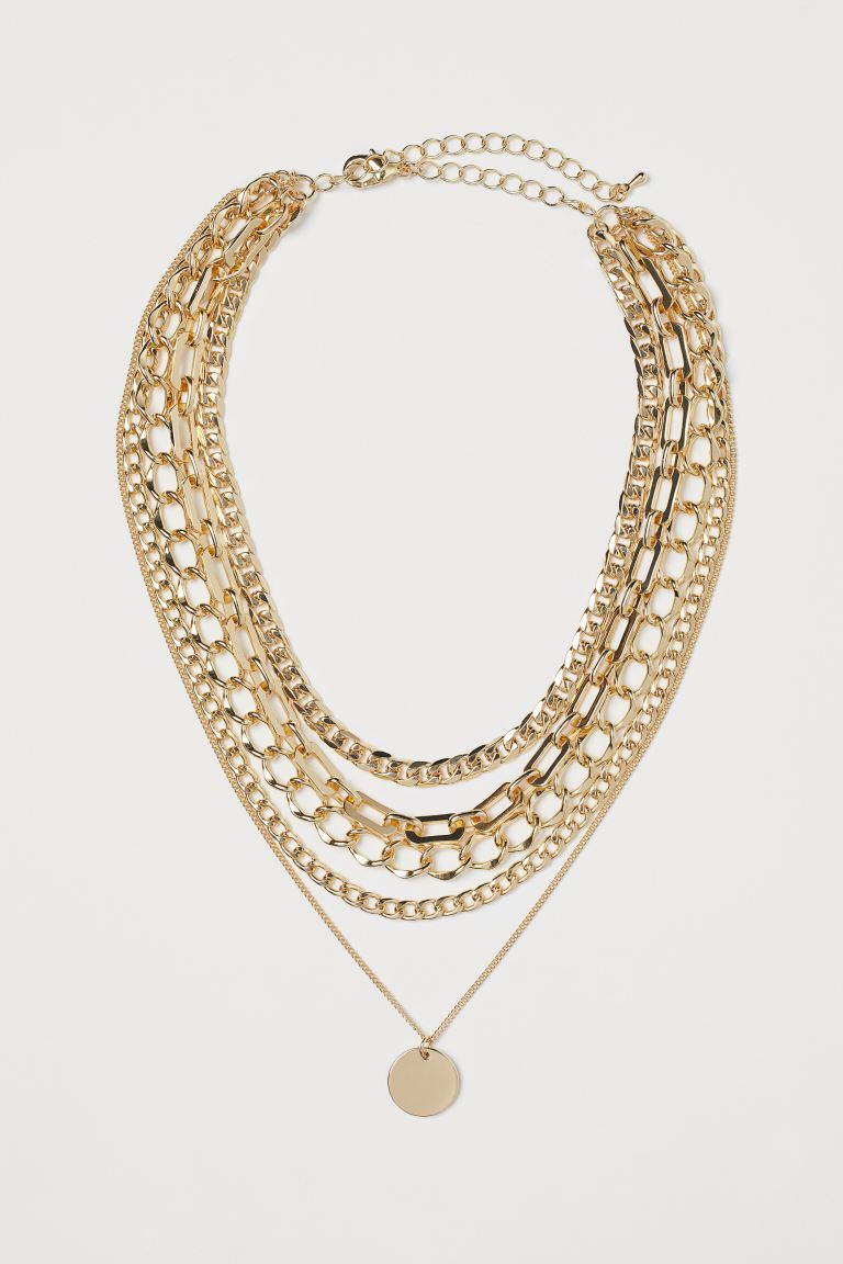 Multi-strand Necklace - Gold-colored - Ladies | H&M US