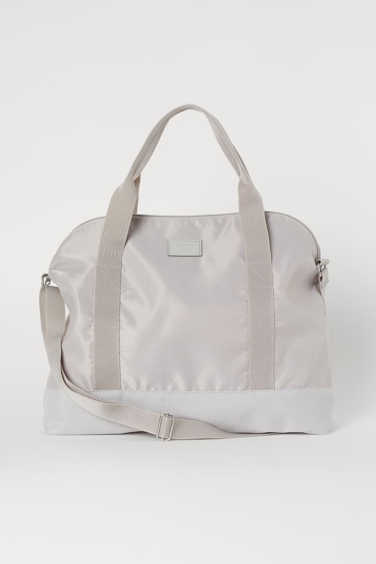 Small Weekend Bag - Light taupe - Ladies | H&M US