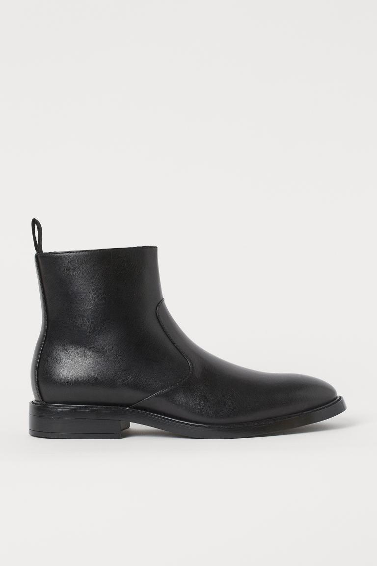 Ботинки на молнии