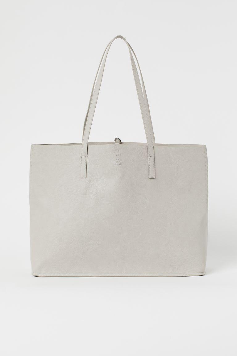 Shopper - Light taupe - Ladies | H&M US 1