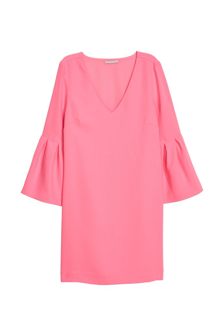 Short dress - Pink - Ladies | H&M GB