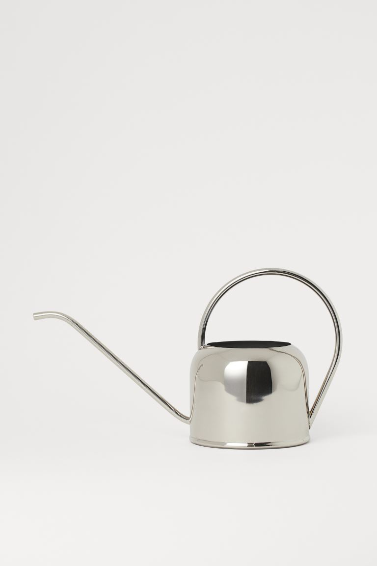 Metal Watering Can - Silver-colored - Home All | H&M US
