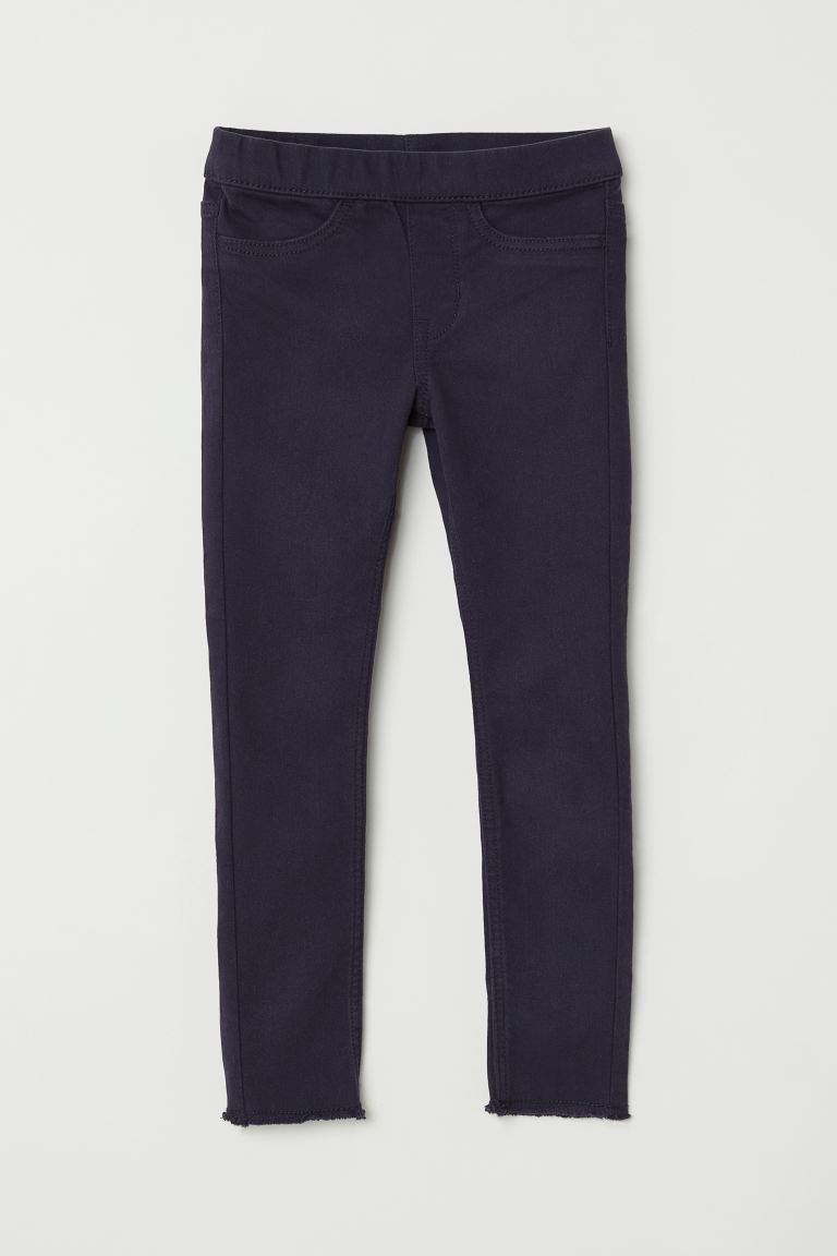 Twill treggings - Dark blue -  | H&M GB