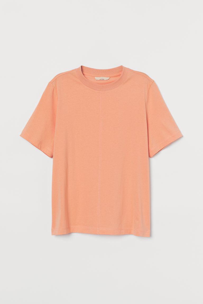 Silk-blend T-shirt