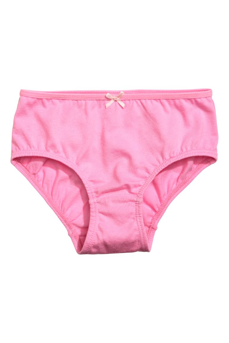 5-pack briefs - Powder pink - Kids | H&M IE