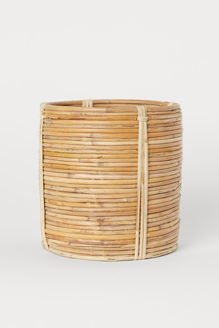 Portavaso in rattan - Beige - HOME | H&M IT