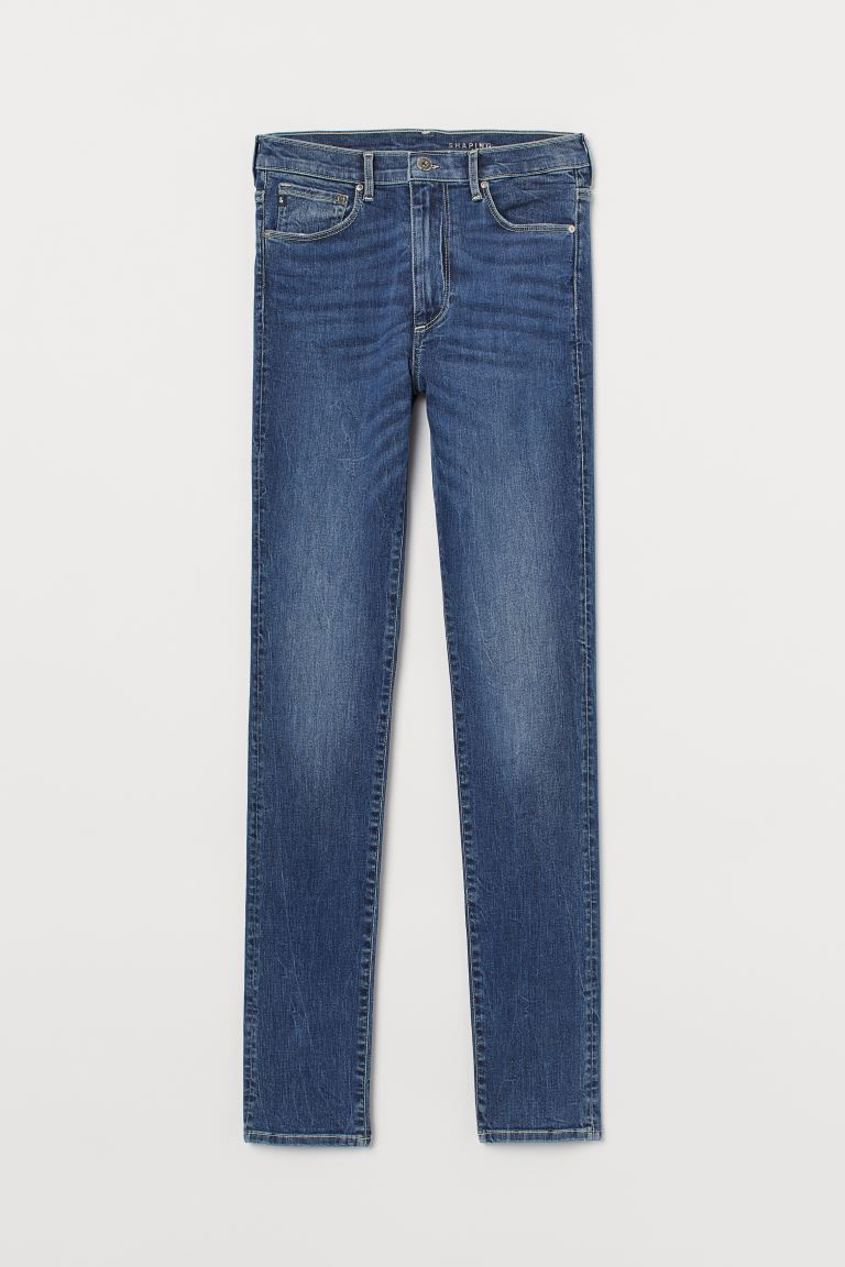 Shaping Skinny High Jeans - Denim blue - Ladies | H&M IE