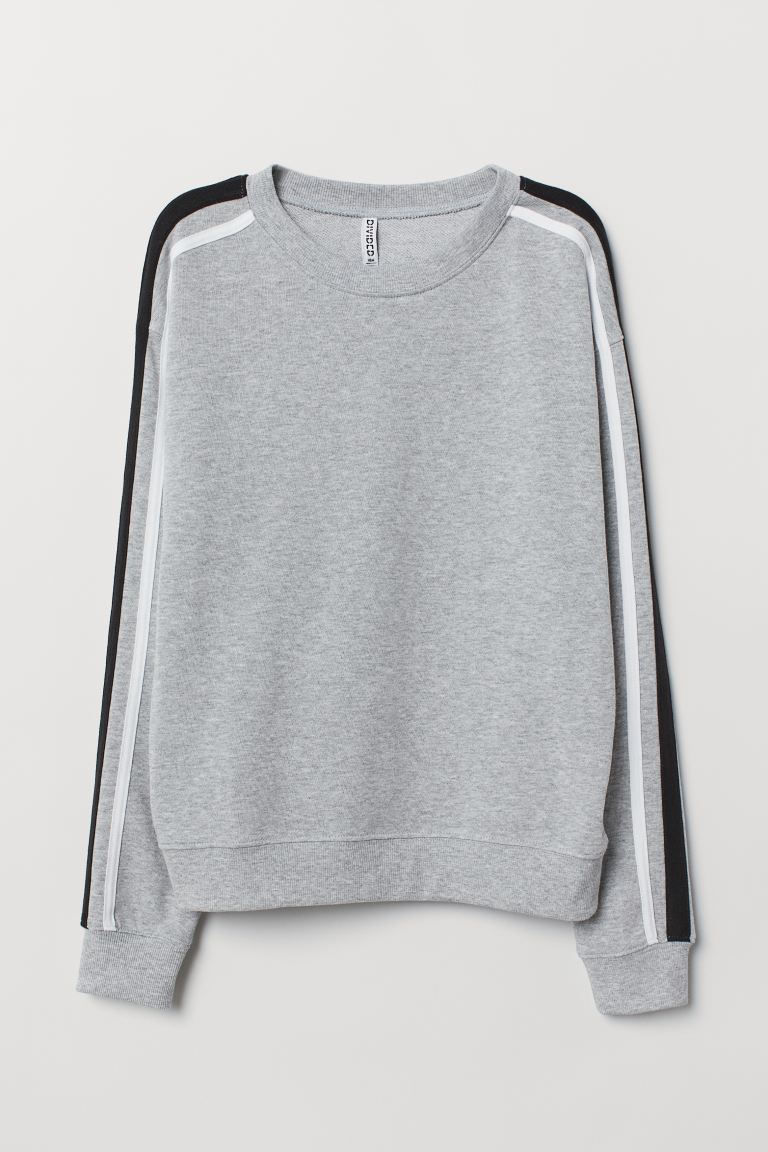 Sweatshirt - Graumeliert - Ladies | H&M DE