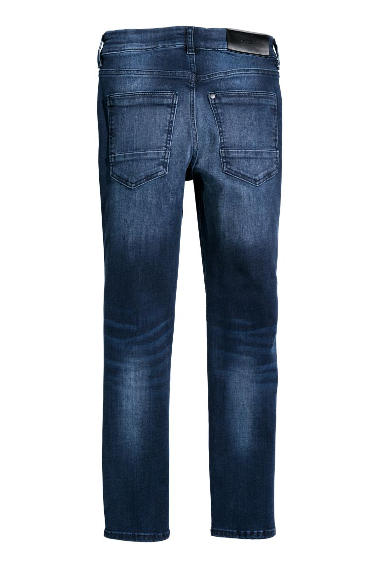 Superstretch Skinny Fit Jeans - Blu denim scuro - BAMBINO | H&M CH