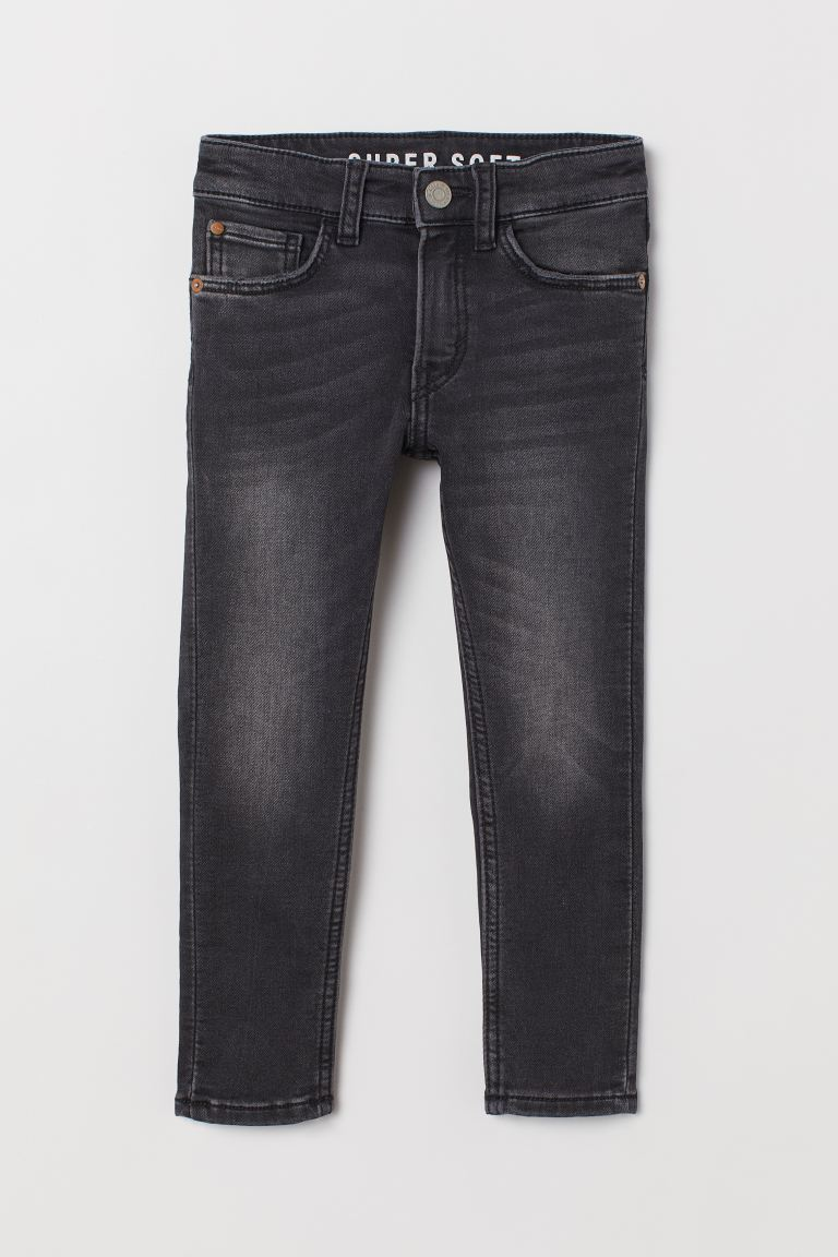 Super Soft Skinny Fit Jeans - Noir - ENFANT | H&M FR