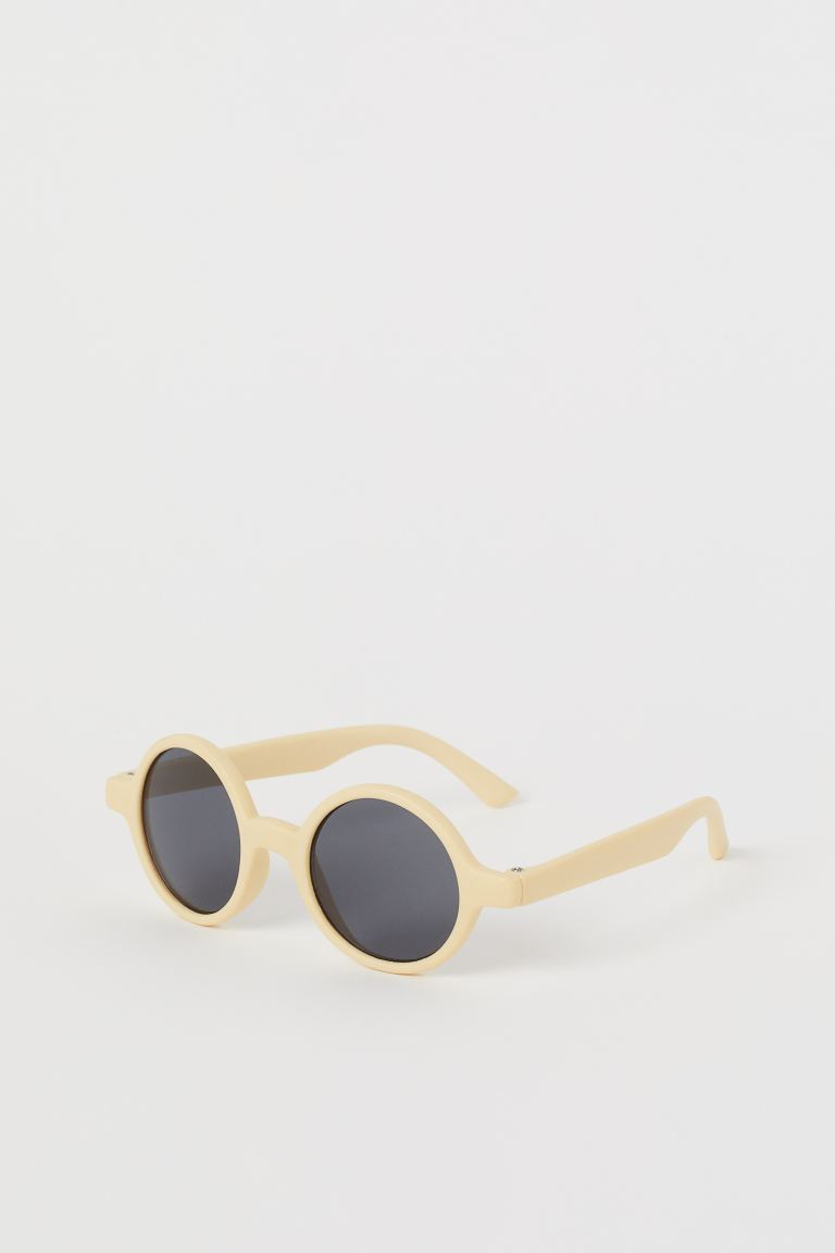 Round sunglasses - Yellow - Kids | H&M